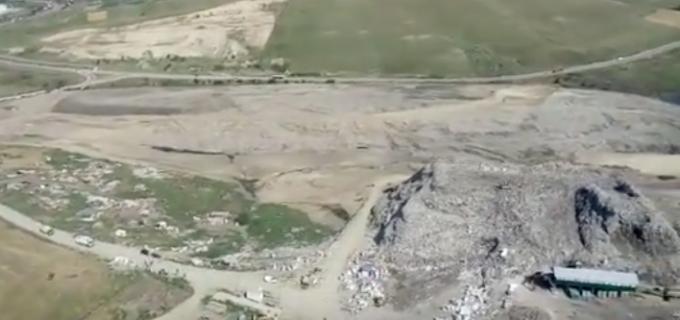 VIDEO: Situația lucrărilor de închidere a rampei neconforme de la Pata Rât