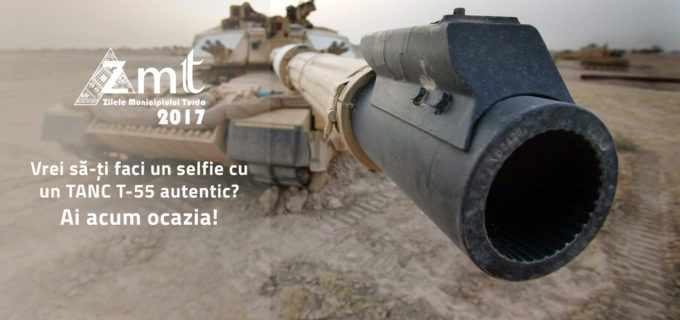 Selfie cu tancuri la Zilele Municipiului Turda!