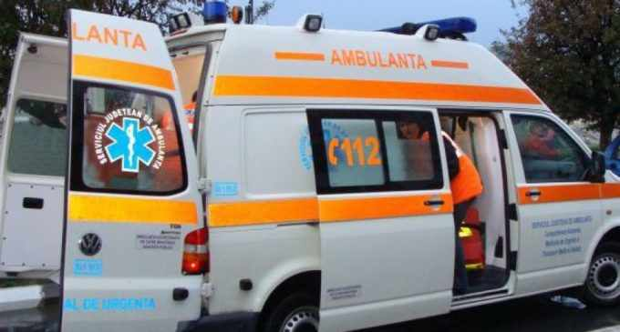 Accident mortal în Aiud, la ieșirea înspre Turda: pieton lovit de ambulanță