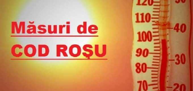 Informare Primăria Turda: în intervalul 4-5 august 2017 pe teritoriul județului Cluj se instituie COD ROȘU de caniculă!