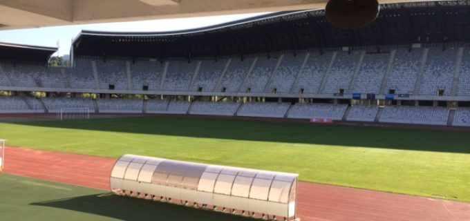 Starea gazonului de pe Cluj Arena în urma desfășurării Festivalului UNTOLD: 5% din suprafață a fost afectată, porțiunea fiind deja înlocuită