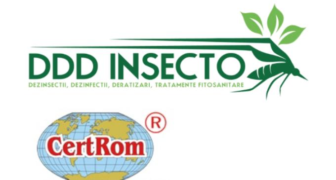 Societatea DDD INSECTO SRL informează populația municipiului Turda despre operațiunile de dezinsecție care se vor efectua pe domeniul public