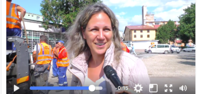 VIDEO: Lucrările de reabilitare şi modernizare a străzilor în cartierele Micro I, Micro II şi Micro III, continuă!