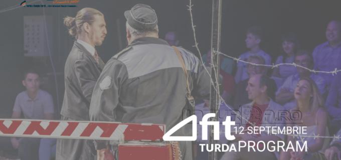 4 spectacole programate pentru astăzi în cadrul Festivalului Internațional de Teatru de la Turda