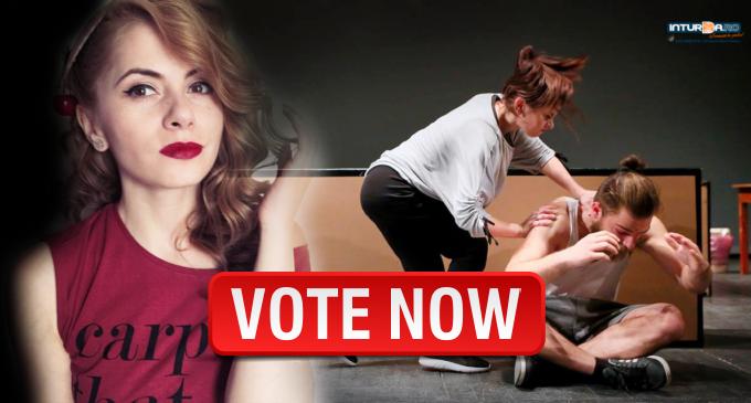 """Start VOT! Actrița Teatrului """"Aureliu Manea"""", Alexandra Dușa, așteaptă votul tău!"""