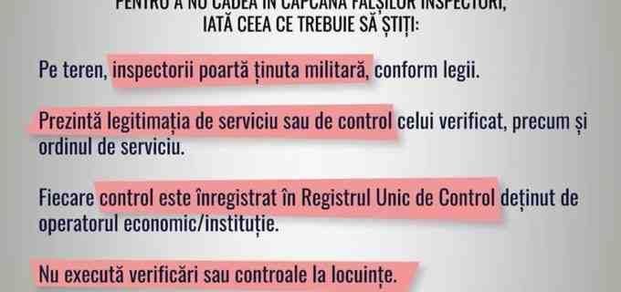 ISU Cluj: Atenție la falșii INSPECTORI DE PREVENIRE