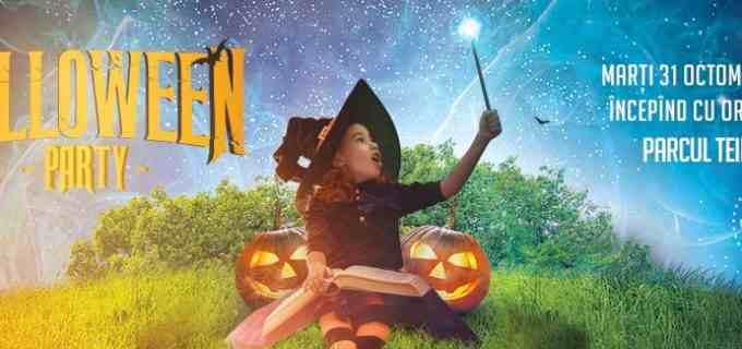 Halloween Party în Parcul Teilor