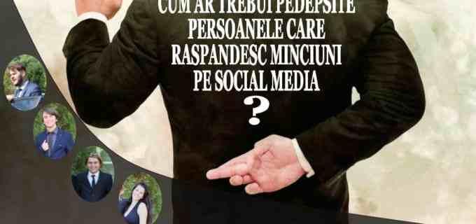 """Dezbatere deschisă organizată de The Da Vinci System la CAA: """"Cum ar trebui pedepsite persoanele care răspândesc minciuni pe social media?"""""""