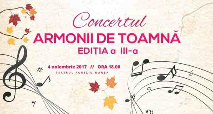 """Casa de Cultură Turda organizează concertul coral """"Armonii de toamnă"""""""