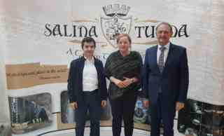 Ambasadorul Turciei, Osman Koray Ertas, a vizitat Salina Turda