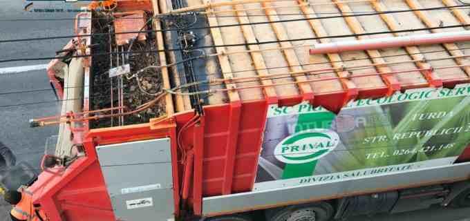 PRIVAL – În atenția cetățenilor municipiului Turda! PROGRAMUL de colectare a deșeurilor în perioada sărbătorilor