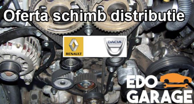 Oferta schimb distributie pentru toate modelele Dacia si Renault! Vezi AICI cât te costă:
