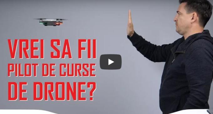 Buhnici te provoacă la o cursă de DRONE în Salina Turda