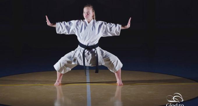 Diana Urcan, sportivă a Clubului Samurai Turda, a fost convocată la lotul național
