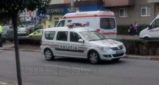 O fetiță de 5 ani a fost lovită pe trecerea de pietoni, pe strada Libertății