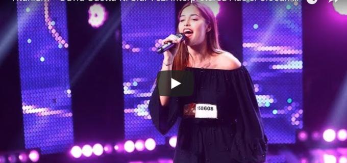 """Adela Ciocan din Câmpia Turzii a făcut spectacol la XFactor.  Carla's Dreams: """"Așa DA!"""""""