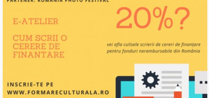 Curs online – Scrierea cererilor de finanțare în sectorul cultural