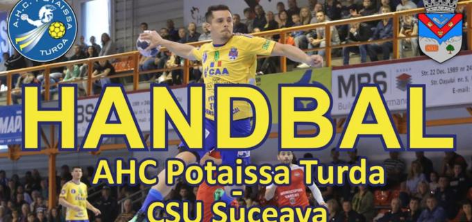 Joi, 19 octombrie: Potaissa Turda vs. CSU Suceava
