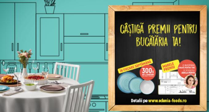 Campanie Edenia Foods! Câștigă o bucătărie în valoare de 20.000 Lei și mii de premii săptămânale