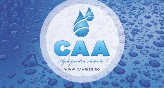 Întrerupere furnizare apă potabilă în municipiul Turda și localitățile Mihai Viteazu, Cornești si Bogata