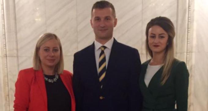 Georgiana Sima, consilier local PNL si președintele TNL Câmpia Turzii a fost aleasă în funcția de vicepreședinte TNL România.