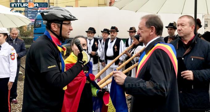 "VIDEO: ""Ștafeta Veteranilor"" Invictus a ajuns și la Turda"