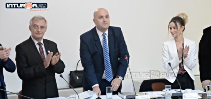 Alexandru Socaciu a depus jurământul în Consiliul Local al Municipiului Câmpia Turzii