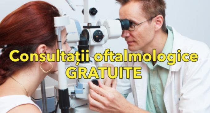 Consultații oftalmologice gratuite în Aiton, Copăceni, Săndulești, Tritenii de Jos și Pădureni
