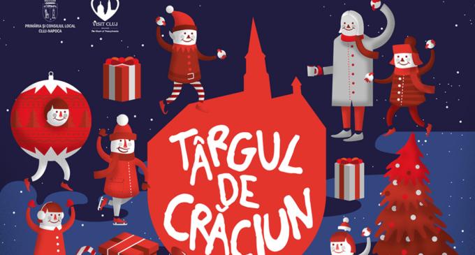 Astăzi se deschide Târgul de Crăciun de la Cluj-Napoca
