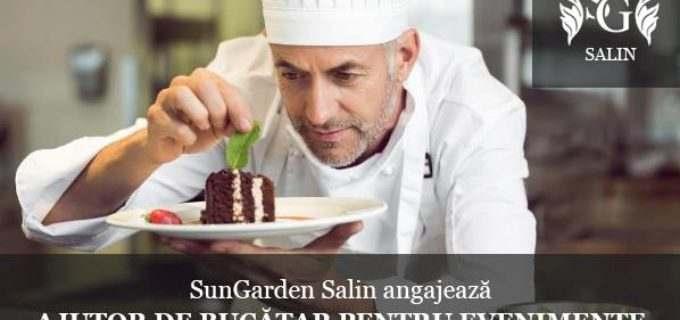 SunGarden Salin angajează ajutor de bucătar