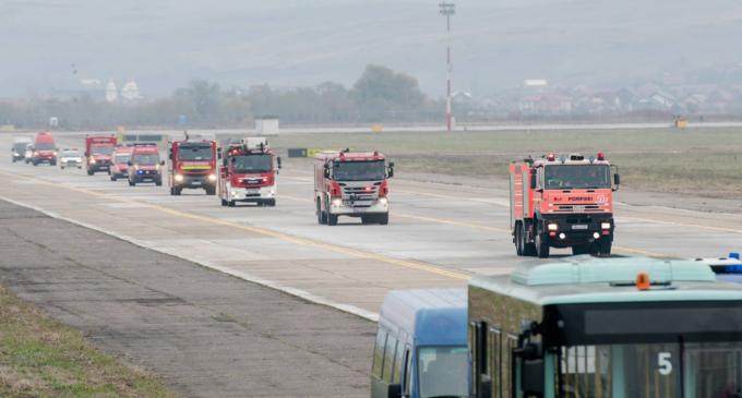 Pe Aeroportul din Cluj a fost aplicat Planul de Acțiune pentru Situații de Urgență în cadrul unui exercițiu