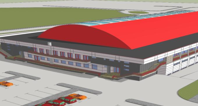 """Anunț: Depunere solicitare de emitere a acordului de mediu pentru proiectul""""Construire sala de sport competitionala de nivel international"""""""