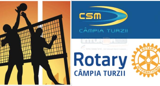 Rotary Câmpia Turzii susține sportul local