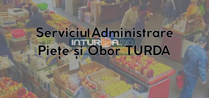 Comunicat – Serviciul Public Administrare Piețe și Obor Turda