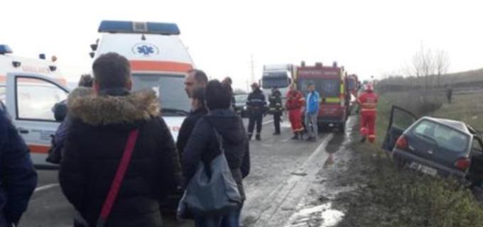 Foto: Accident rutier soldat cu 3 victime între Turda și Alba