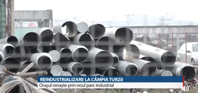 Reportaj TVR: Reindustrializare la Câmpia Turzii – Orașul renaște