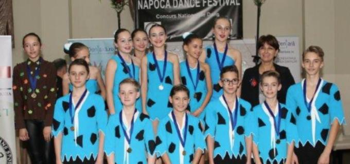 """Dans Sportiv """"Potaissa Turda"""", locul 1 la Napoca Dance Festival"""
