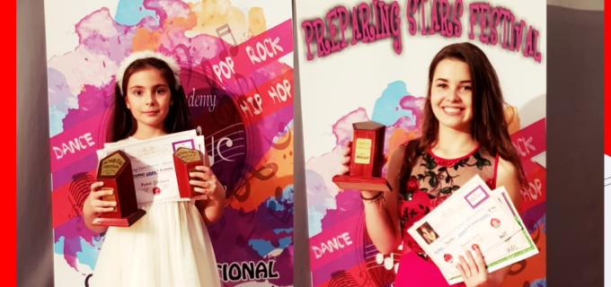 Nora Tasnadi și Ștefania Petric au strălucit pe scena Festivalului Preparing Stars de la Baia Mare