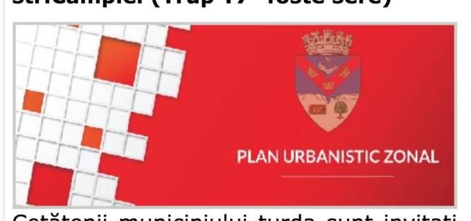 Plan Urbanistic Zonal inițiat în Turda, în teritoriu intravilan la capătul str.Câmpiei (Trup T7 -foste sere)