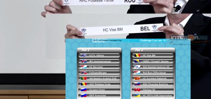 Potaissa Turda merge în Belgia pentru optimile Challenge Cup