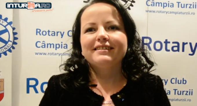 """VIDEO – Irina Dee, președinte Asociația Autism Câmpia Turzii, la Balul Rotary: """"Singurii care au venit in sprijinul nostru au fost Clubul Rotary"""""""