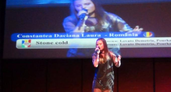 VIDEO: Constantea Daciana din Campia Turzii a câștigat Trofeul international Euro Pop Music Vision