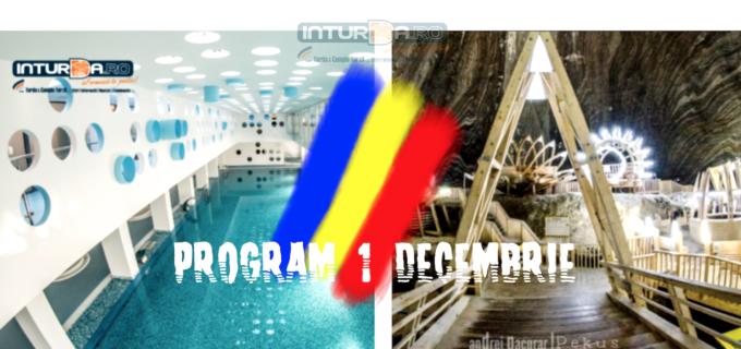 Program Salina Turda și SPA Turda în perioada mini-vacanței de 1 Decembrie:
