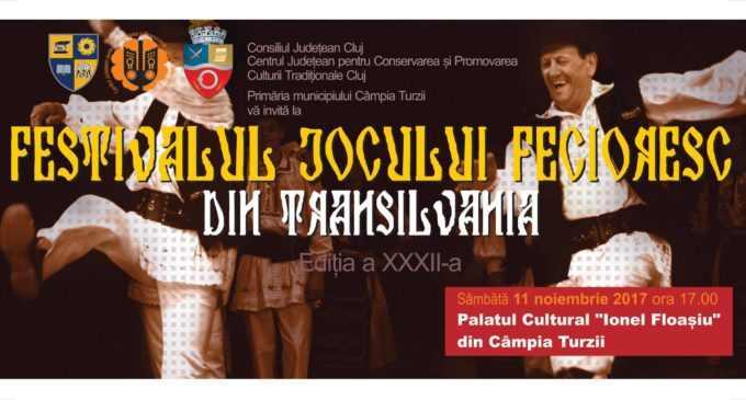 Câmpia Turzii găzduiește Festivalul Jocului Fecioresc din Transilvania