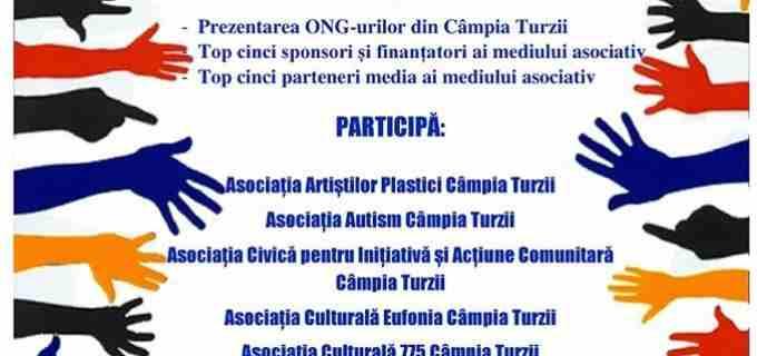 Marti, 5 decembrie: Gala Voluntarilor 2017 Câmpia Turzii