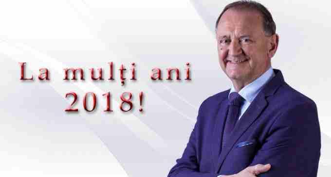 """Primarului Municipiului Turda, Matei Cristian: """"Am convingerea că 2018 va veni cu rezultate şi mai bune!"""""""