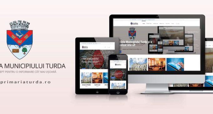 Primăria Municipiului Turda și-a actualizat site-ul!