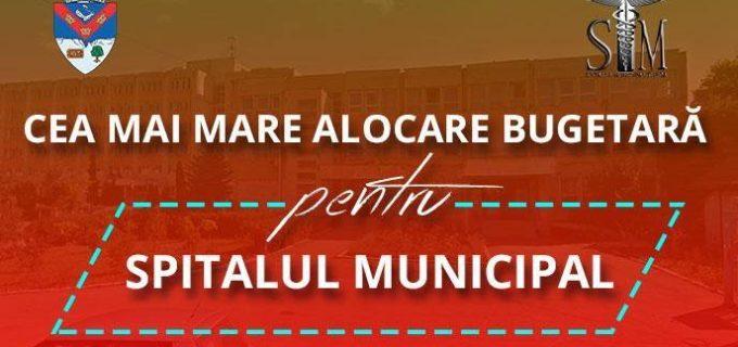 Cea mai mare alocare bugetara pentru Spitalul Municipal Turda