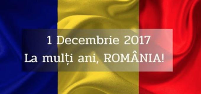 "Deputat Cristina Burciu: ""La mulți ani, România! La mulți ani, români!"""