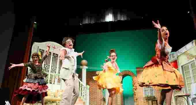 Teatrul din Turda în ropote de aplauze la Suceava